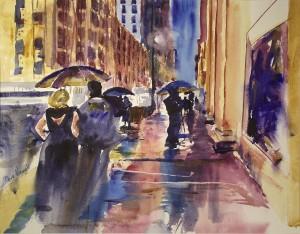 Downtown Rain 14.5x18.5 (2) (1)